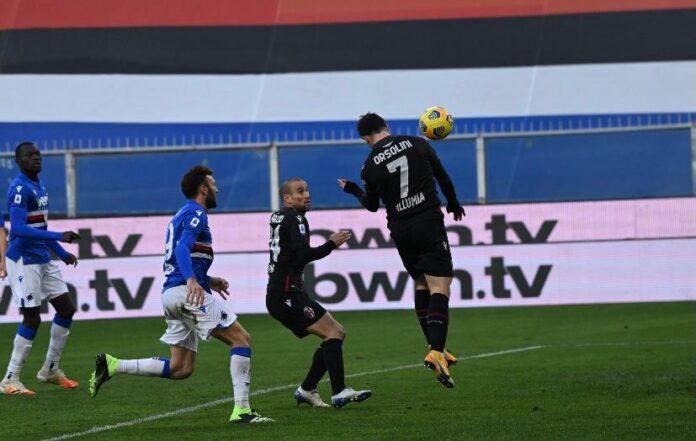 Sampdoria-Bologna 1-2