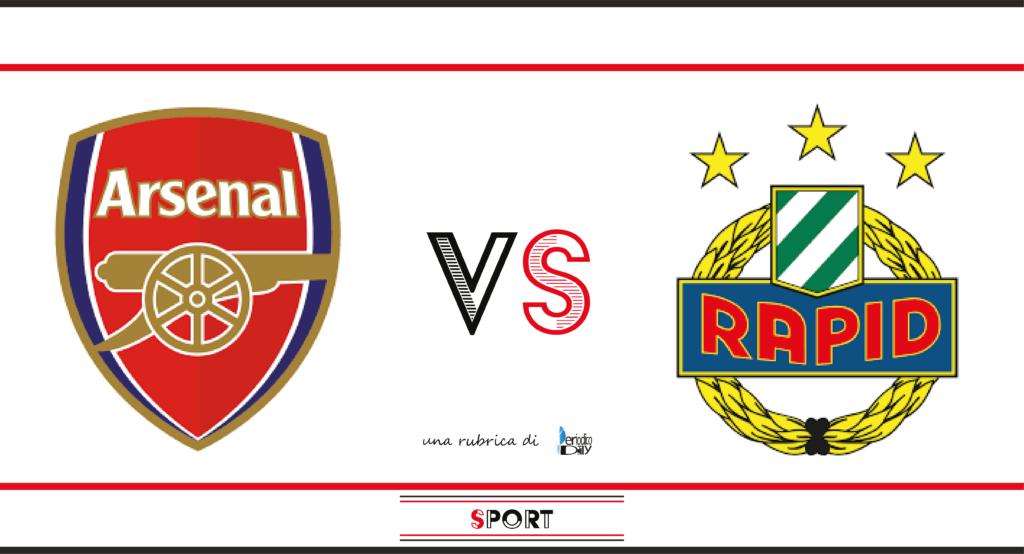 Il pronostico di Arsenal-Rapid Vienna, 5a giornata di Europa League.