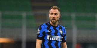 eriksen saluta l'Inter