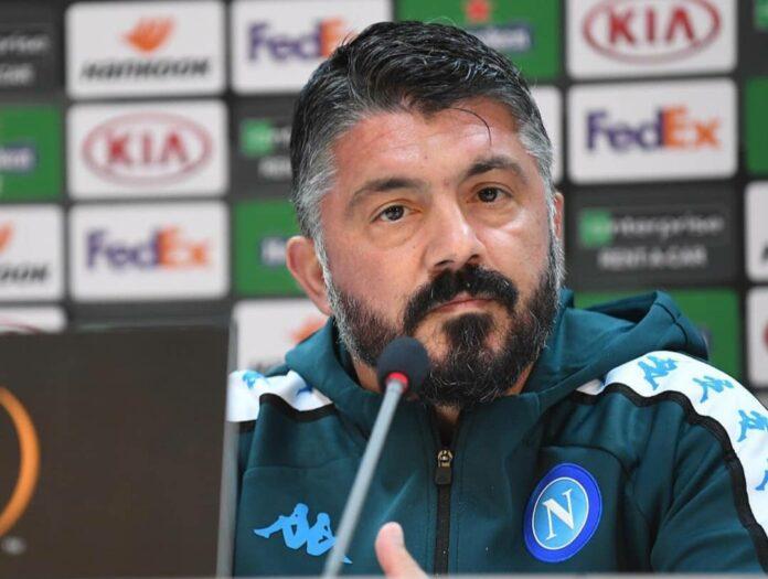Conferenza pre AZ-Napoli