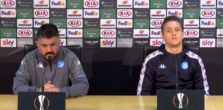 Conferenza pre Napoli-Real Sociedad