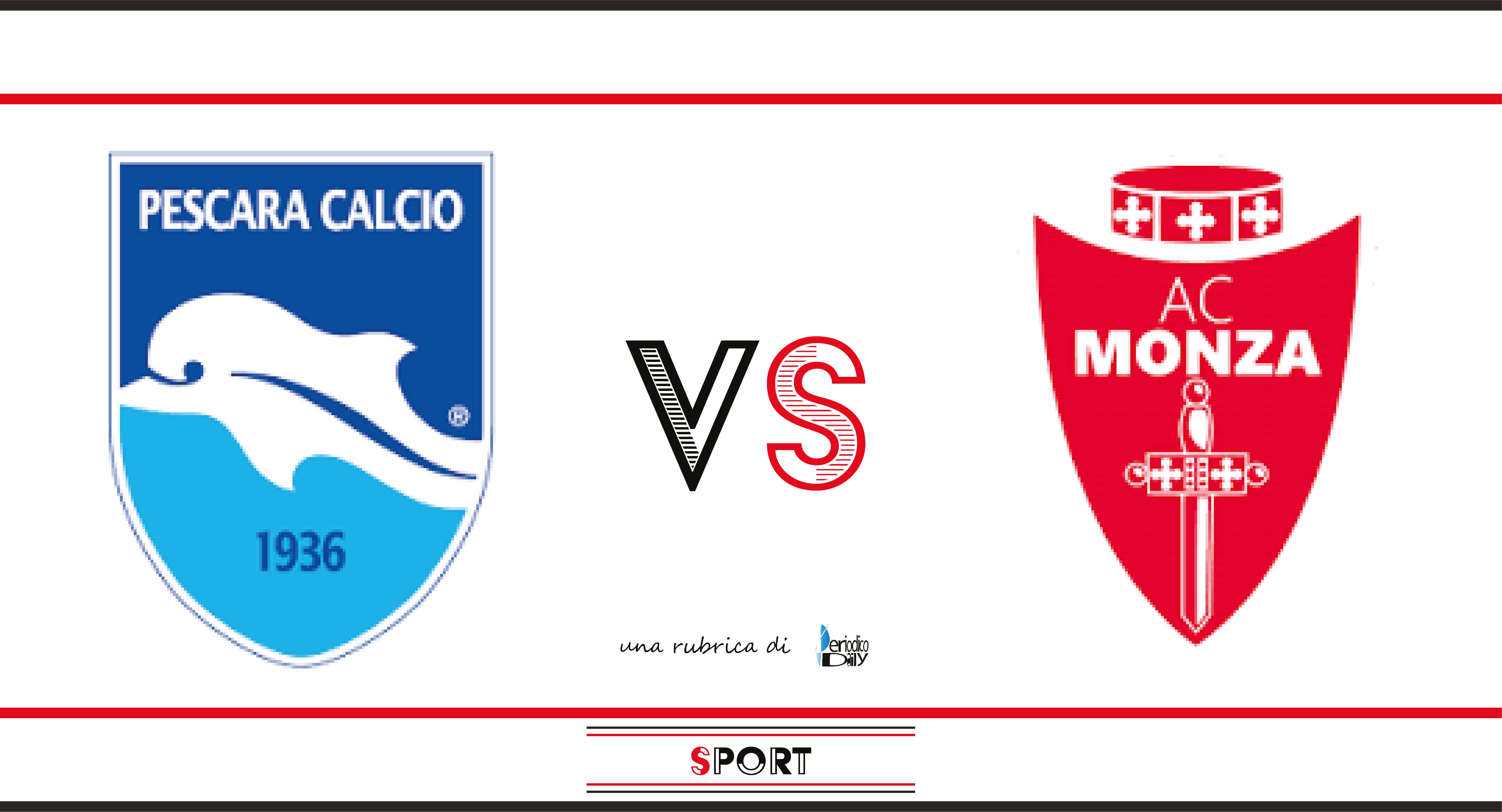 Il Pescara supera il Monza 3-2 e conferma il momento di forma