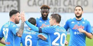 Cagliari-Napoli 1-4