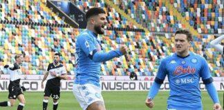 Post Udinese-Napoli 1-2
