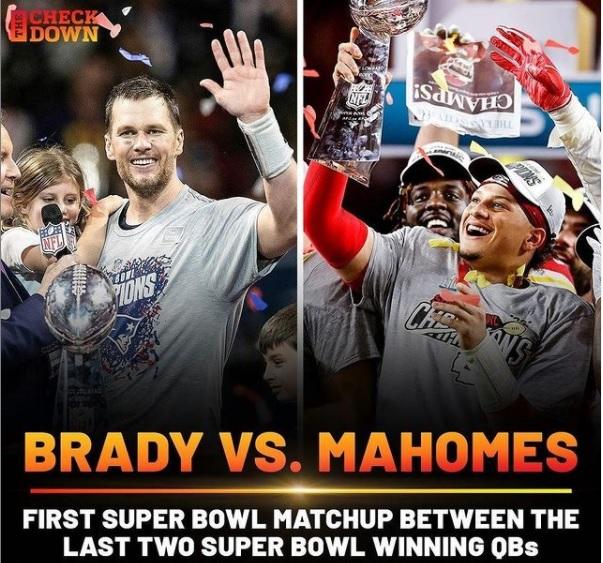 Mahomes e Brady si sfideranno nel Super Bowl LV