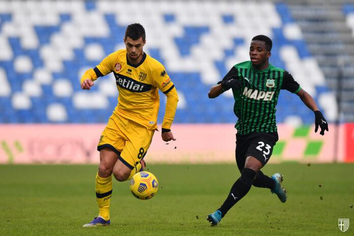 Il Parma vince a Reggio Emilia con una rete di Kucka