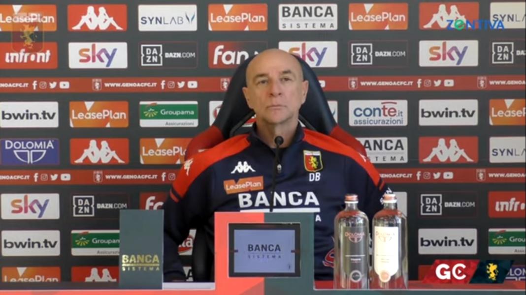 Ballardini, la conferenza stampa prima di Genoa-Cagliari