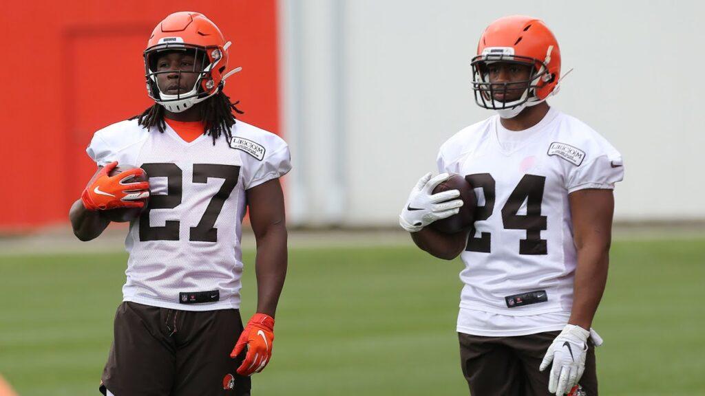 """NFL – Mathieu su Hunt e Chubb: """"È come vedere un mostro a due teste"""""""