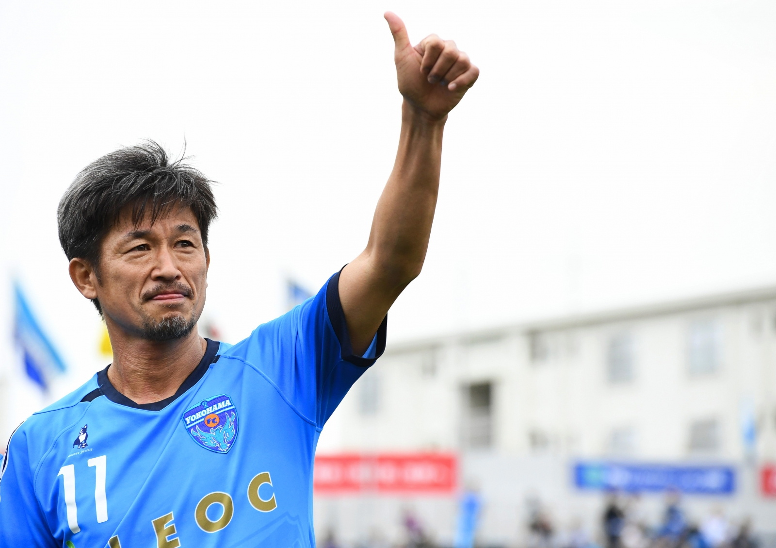 Kazuyoshi Miura rinnova e giocherà a calcio fino a 54 anni
