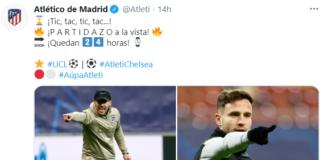 pre Atletico Madrid-Chelsea