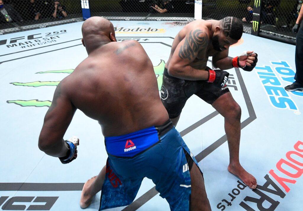 UFC - Derrick Lewis contro Curtis Blaydes