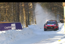 arctic rally finland seconda tappa