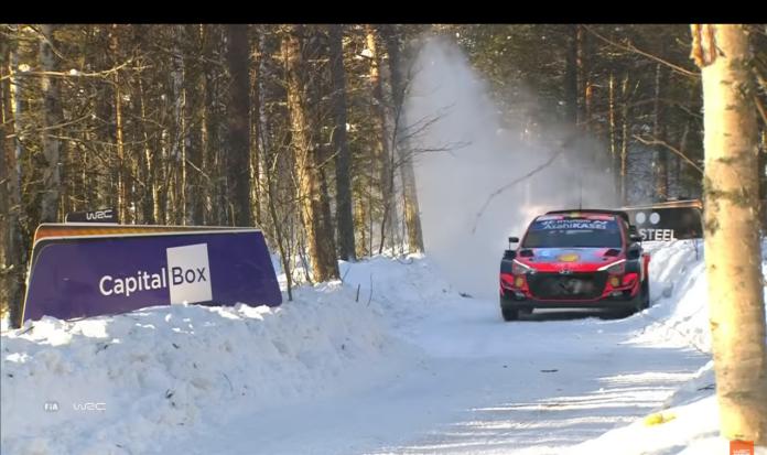 arctic rally finland seconda tappa