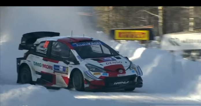 arctic rally finland terza tappa