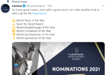 laureus world sport Award
