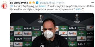 post Slavia Praga-Leicester