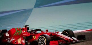 Test Bahrain Leclerc
