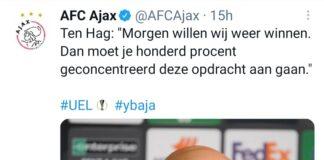 Dichiarazioni pre Young Boys-Ajax