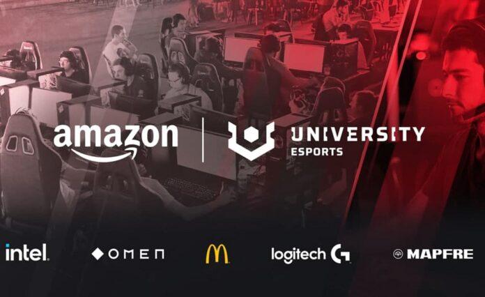 Francia e Germania Amazon University Esports