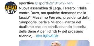 Diritti tv Serie A