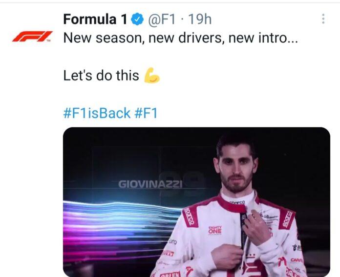 Formula Uno 2021