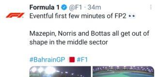Prove libere 2 Gp Bahrain