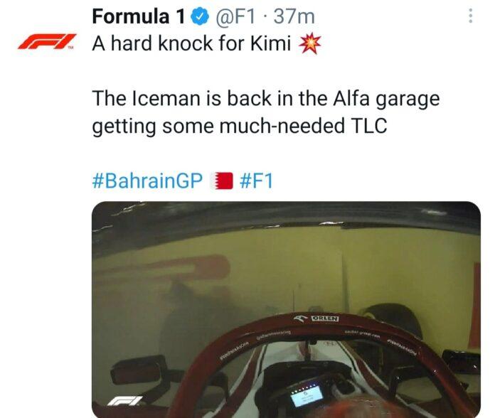 PL2 Bahrain Raikkonen