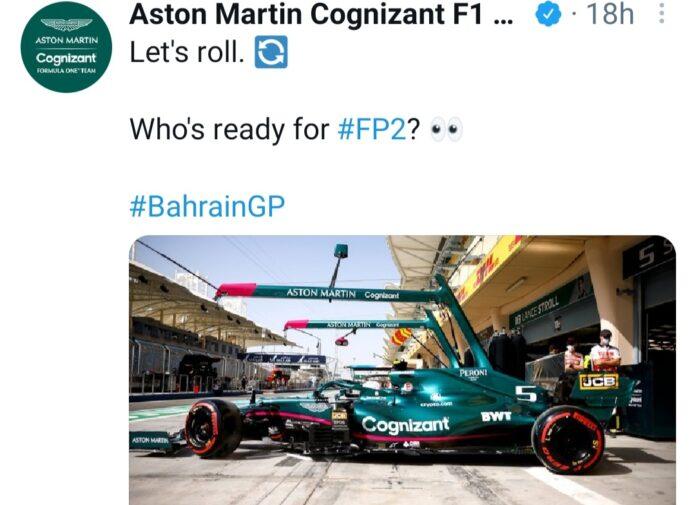 Prove Libere Bahrain Vettel