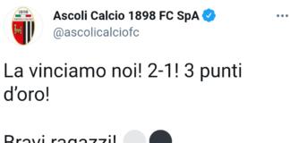 Ascoli-Vicenza 2-1