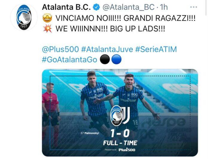 Atalanta-Juventus 1-0