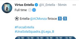 Entella-Monza 1-1