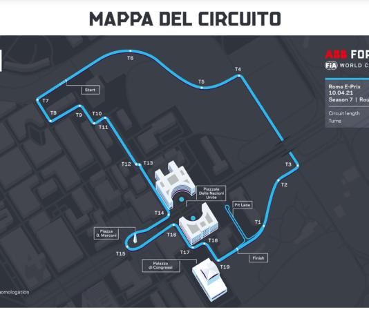 Formula E circuito
