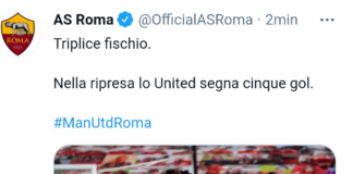 Manchester United-Roma 6-2