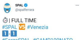 SPAL-Venezia 1-1