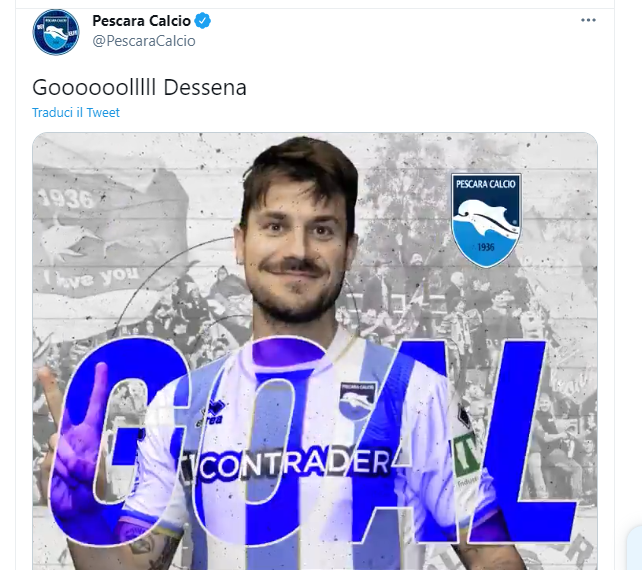 Brescia-Pescara 1-1: Dessena risponde a Jagiello