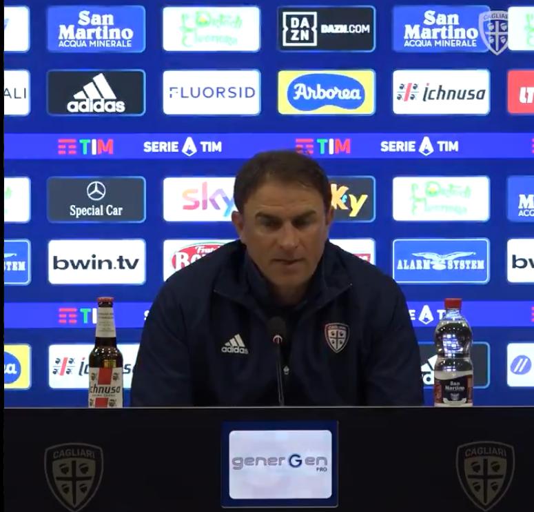 Leonardo Semplici-allenatore Cagliari