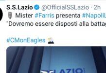 Dichiarazioni pre Napoli Lazio