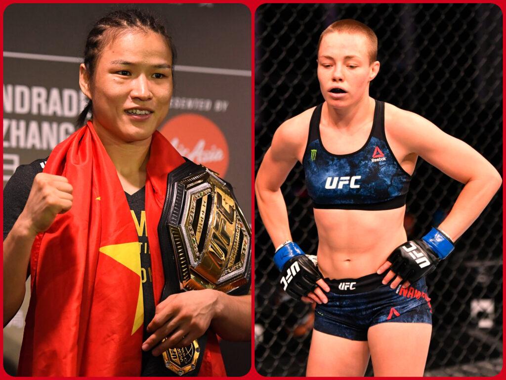 UFC 261 - Weili Zhang Vs Rose Namajunas