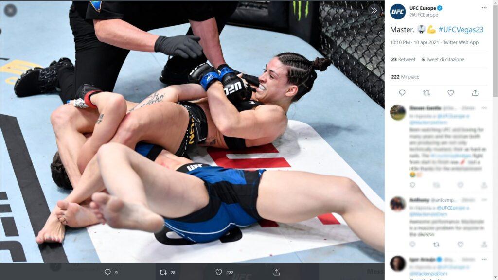 UFC - il meglio di Aprile 2021 - Mackenzie Dern