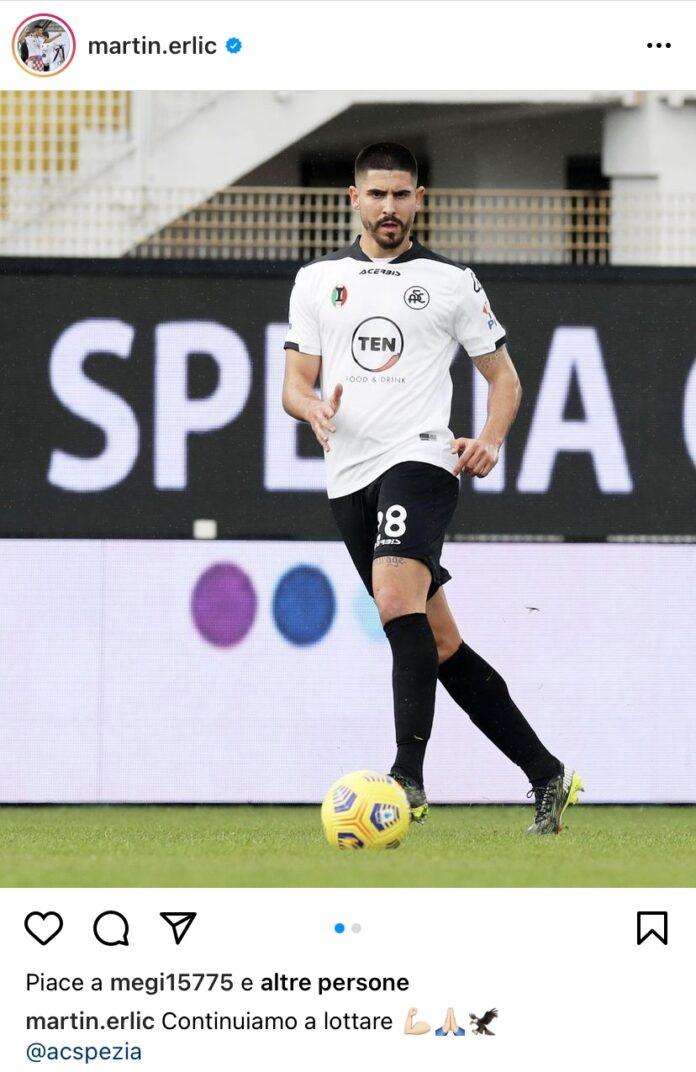 Martin Erlic Spezia
