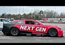 nascar next gen car darlington