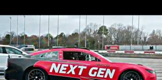 nascar next gen car darlington