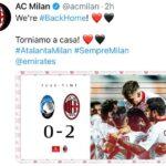 Atalanta-Milan 0-2