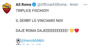 Roma-Lazio 2-0