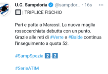 Sampdoria-Spezia 2-2