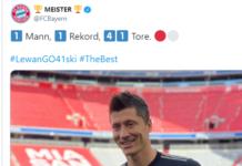 Lewandowski-Bayern Monaco