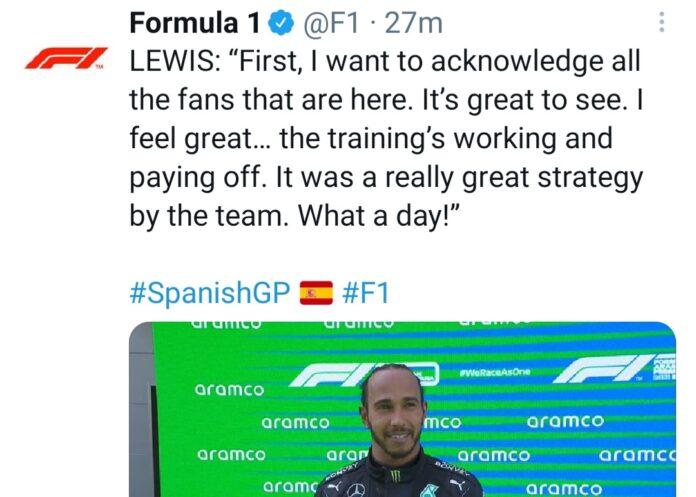 Interviste Top 3 Gp Spagna