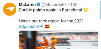 McLaren limiti di pista