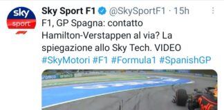 Gp Spagna sorpasso Verstappen