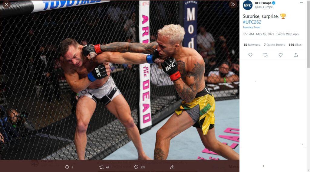 UFC 262 - Charles Oliveira